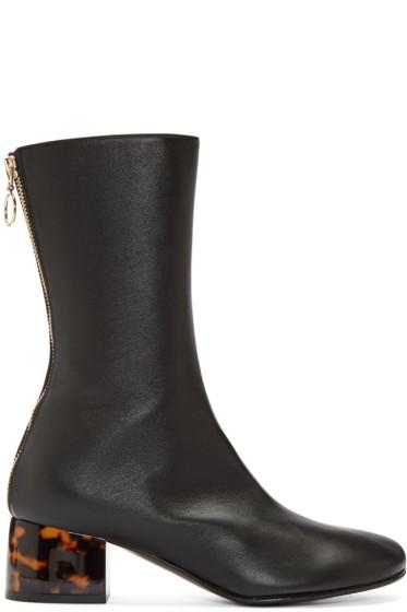 Stella McCartney - Black High Ankle Boots