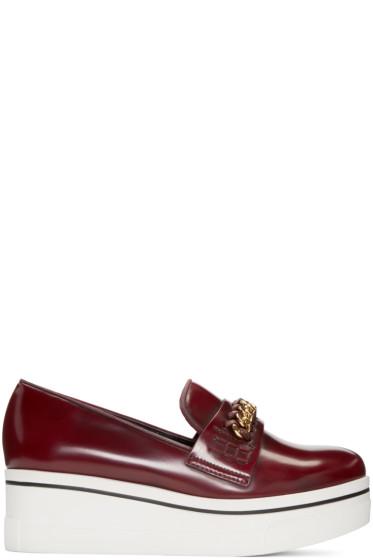 Stella McCartney - Burgundy Binx Loafers