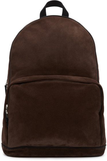 Umit Benan - Brown Suede Backpack
