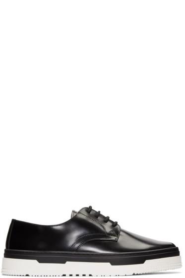 Valentino - Black Leather Derbys
