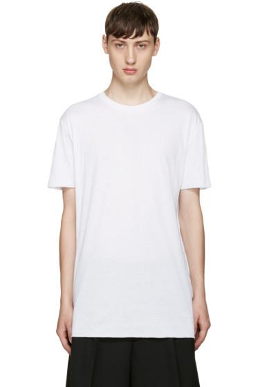 Thamanyah - White Cotton T-Shirt
