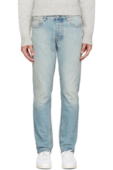 AMI Alexandre Mattiussi - Blue Light Wash Jeans