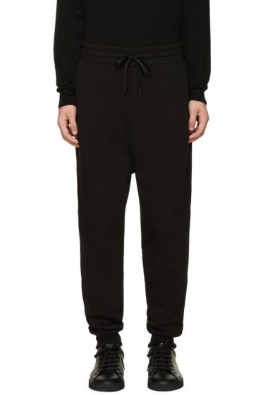 AMI Alexandre Mattiussi - Black Fleece Lounge Pants