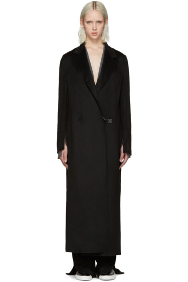 Calvin Klein Collection - Black Cashmere Coat