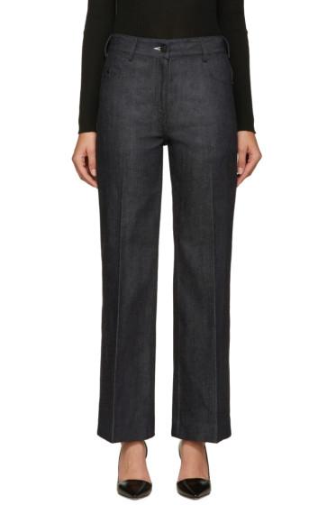Calvin Klein Collection - Indigo Fray Jeans