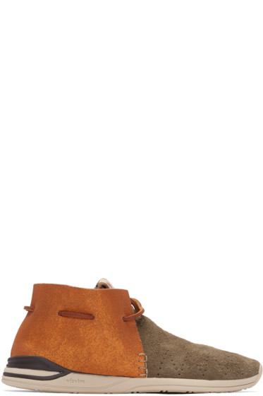 Visvim - Brown Folk Huron Moccasins