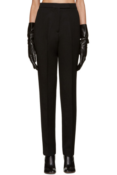 Yang Li - Black Reconstructed Classic Trousers