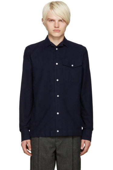 Kolor - Navy Pocket Shirt