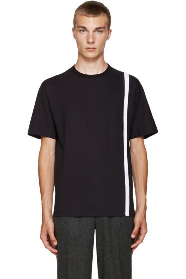 Kolor - Navy Stripe T-Shirt