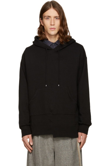 Facetasm - Black Kangaroo Pocket Hoodie