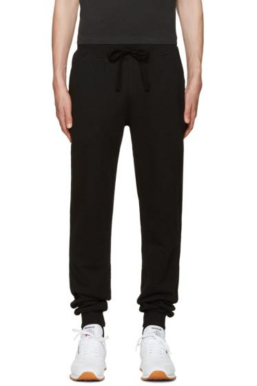 Naked & Famous Denim - Black Slim Jogger Lounge Pants