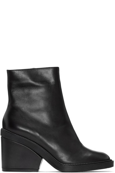 Robert Clergerie - Black Babe Ankle Boots