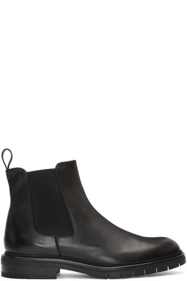 Robert Clergerie - Black Brit Chelsea Boots