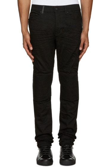 Marcelo Burlon County of Milan - Black Biker Jeans