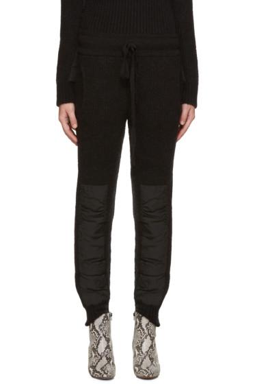 Haider Ackermann - Black Mohair Lounge Pants