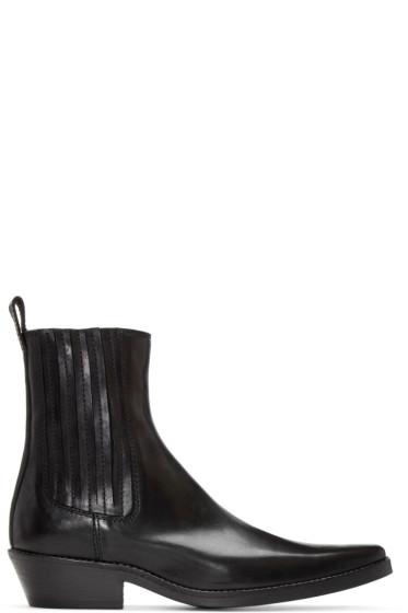 Haider Ackermann - Black Pearl Chelsea Boots