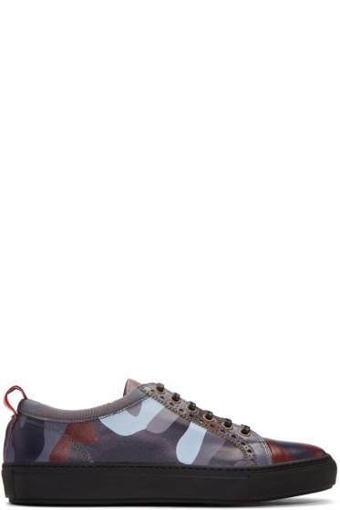 Moncler Gamme Bleu - Multicolor Camo Sneakers