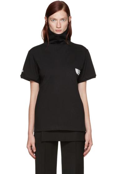 Hood by Air - Black Idiot Pilgrim T-Shirt