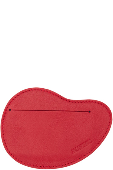 Jacquemus - Red Haricot Card Holder
