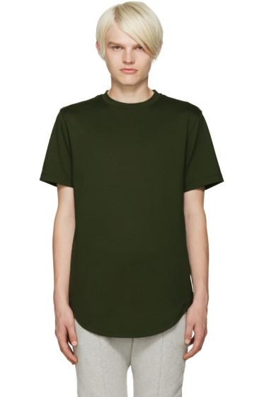 Pyer Moss - Green Zipper T-Shirt