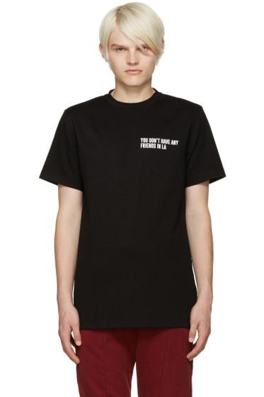 Pyer Moss - Black Graphic T-Shirt