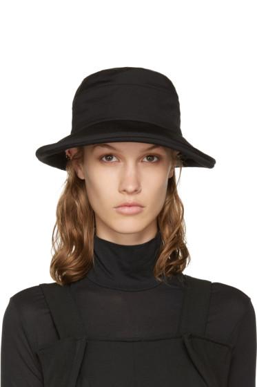 Yohji Yamamoto - Black Slouchy Hat