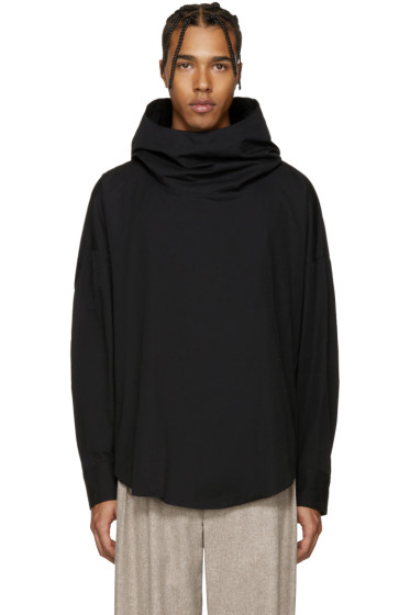 Lad Musician - Black Hooded Shirt