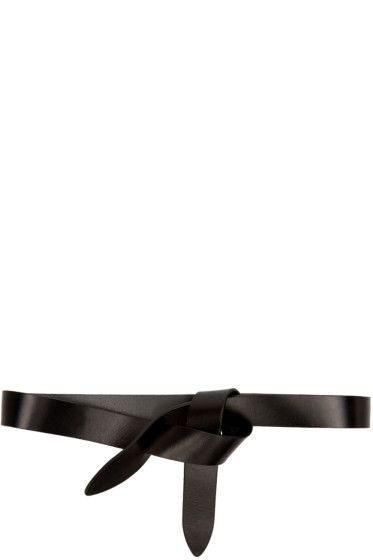 Isabel Marant Etoile - Black Leather Lecce Belt