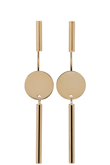 Isabel Marant - Gold Josef Maria Earrings