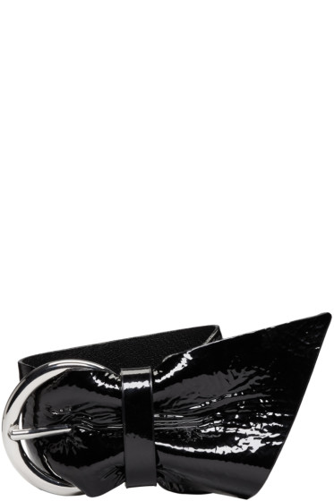 Isabel Marant - Black Patent Leather Bracelet
