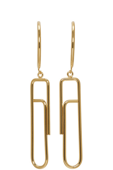 Isabel Marant - Gold Glum Earrings