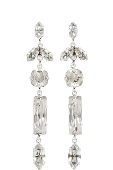 Isabel Marant - Silver Mirror Earrings