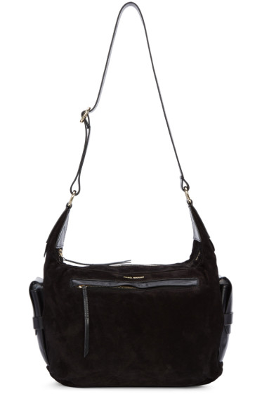 Isabel Marant - Black Suede Corte Bag