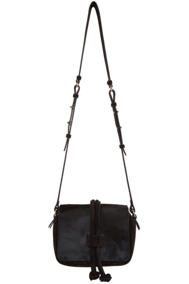 Isabel Marant - Black Calf-Hair Bliss Bag