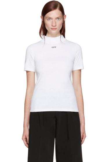 Off-White - White 'Off' T-Shirt