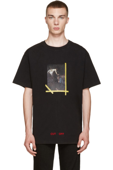 Off-White - Black Annunciazione T-Shirt