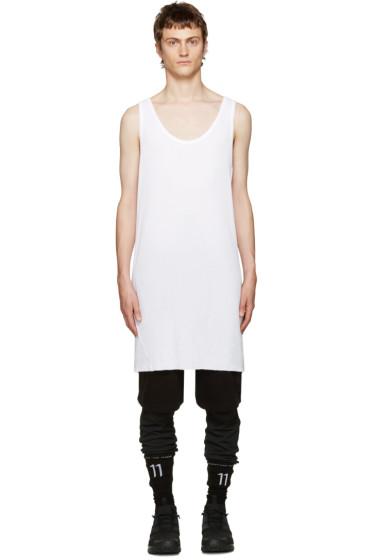 11 by Boris Bidjan Saberi - White Asymmetric Top