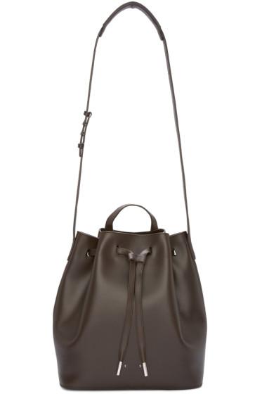 PB 0110 - Brown AB16 Bucket Bag