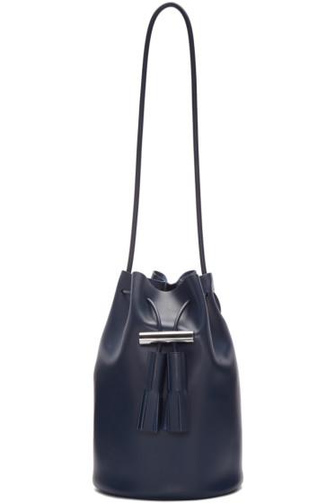 Building Block - Navy Bucket Bag