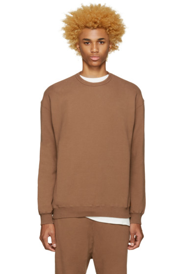 Undecorated Man - Brown Zip Sweatshirt