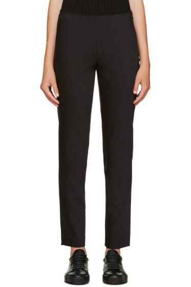 Jil Sander Navy - Black Tapered Trousers