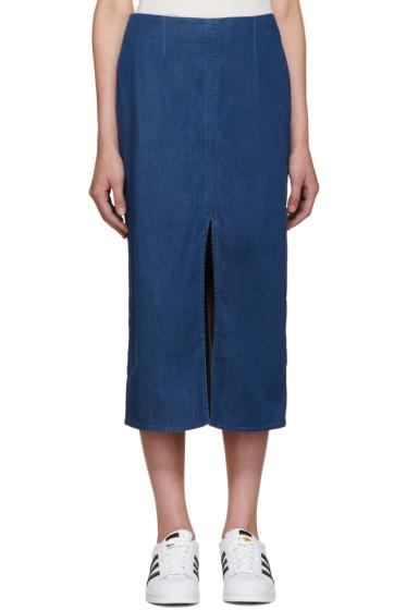 Won Hundred - Blue Denim Debra Skirt