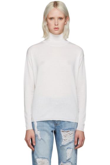Won Hundred - Ivory Mock Neck Live Sweater