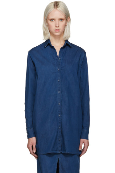 Won Hundred - Blue Denim Sharla Shirt