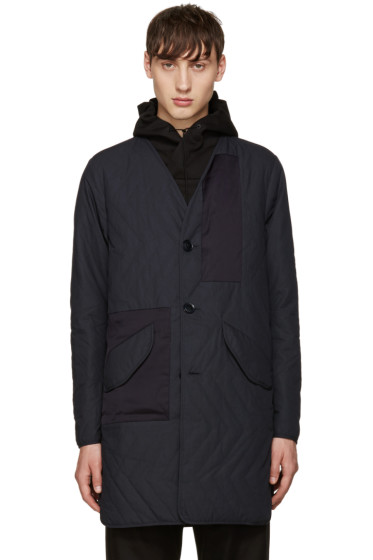 OAMC - Navy Quilted Insert Coat
