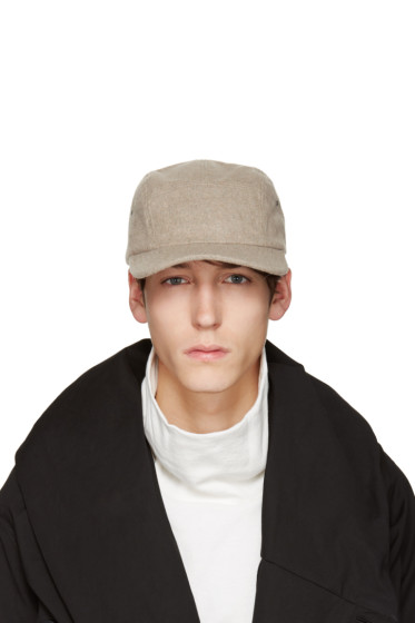 D by D - Beige Five Panel Cap