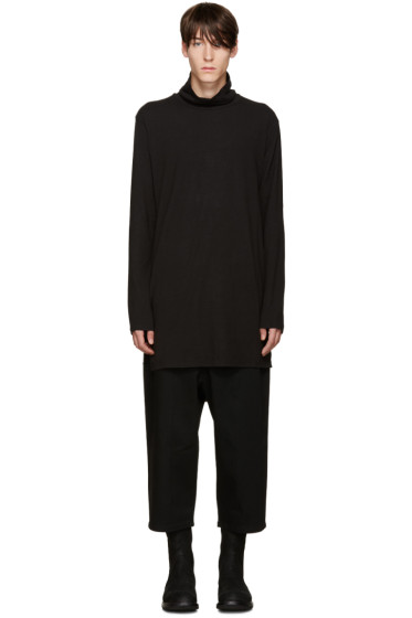D by D - Black Straps Turtleneck