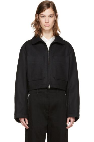 Lemaire - Black Wool Jacket