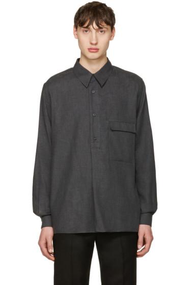Lemaire - Grey Twill Overshirt