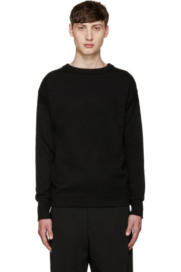 Lemaire - Black Guernsey Sweater